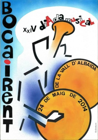 Cartell XXIV Diada Musical de la Vall d'Albaida